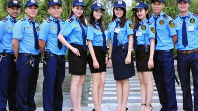 Thiết kế đồng phục bảo vệ đẹp