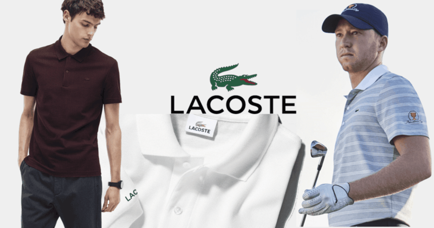 Mẫu đồng phục áo Lacoste nam