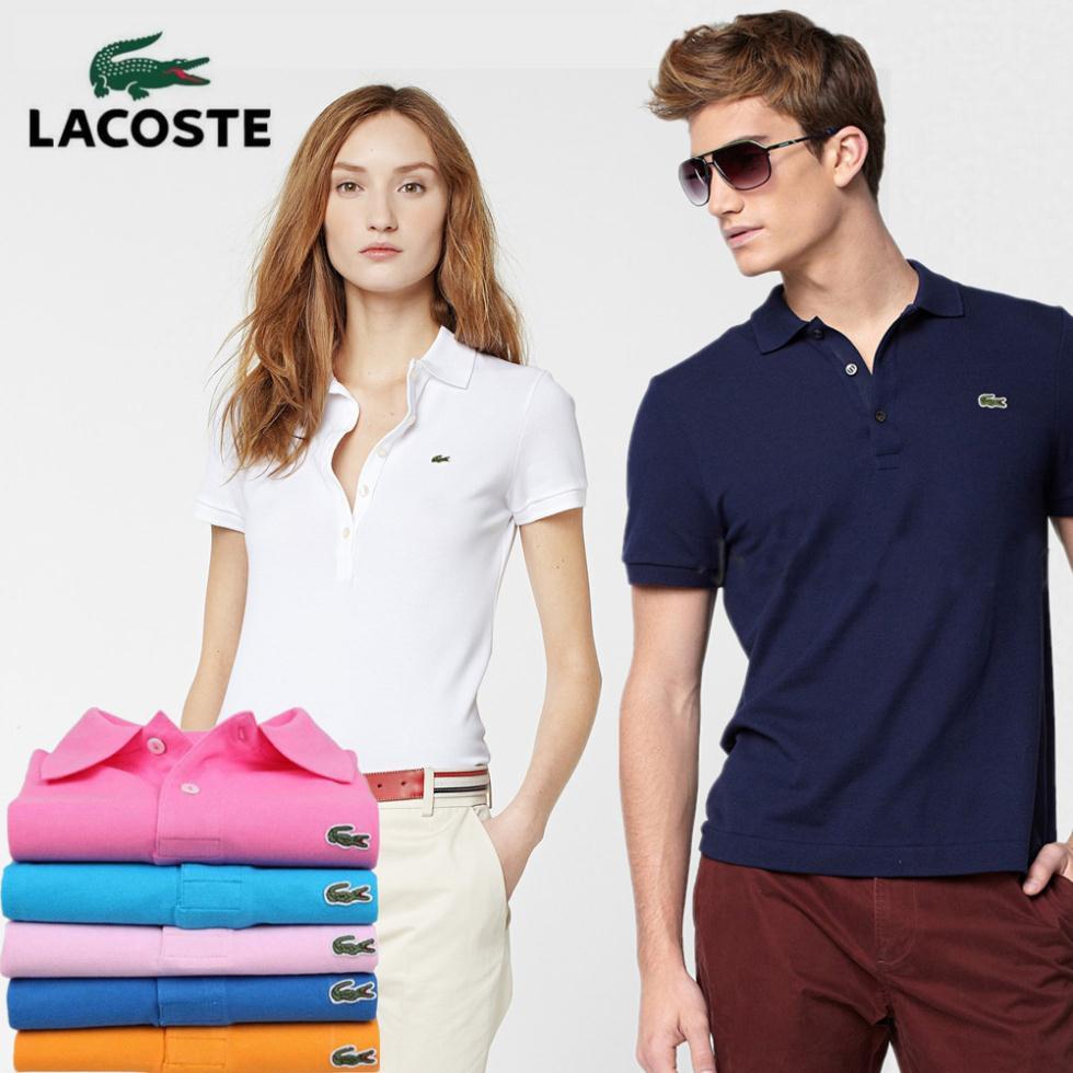 Mẫu đồng phục áo Lacoste nữ