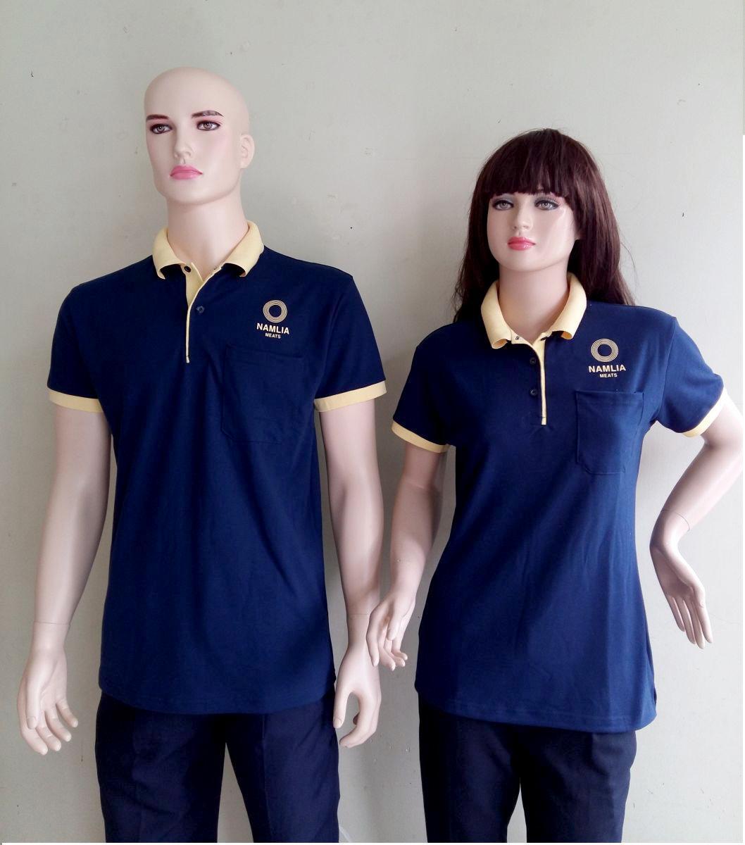 Mẫu đồng phục áo thun công ty may sẵn
