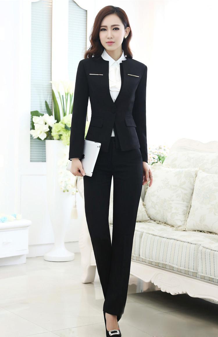 Mẫu đồng phục áo vest nữ công sở