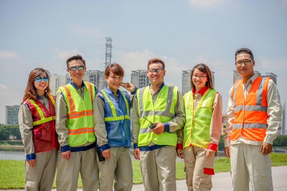 Mẫu đồng phục bảo hộ lao động