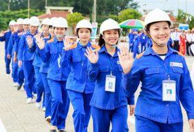 Mẫu quần áo bảo hộ lao động