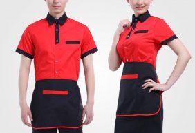 Mẫu đồng phục nhà hàng Âu Á