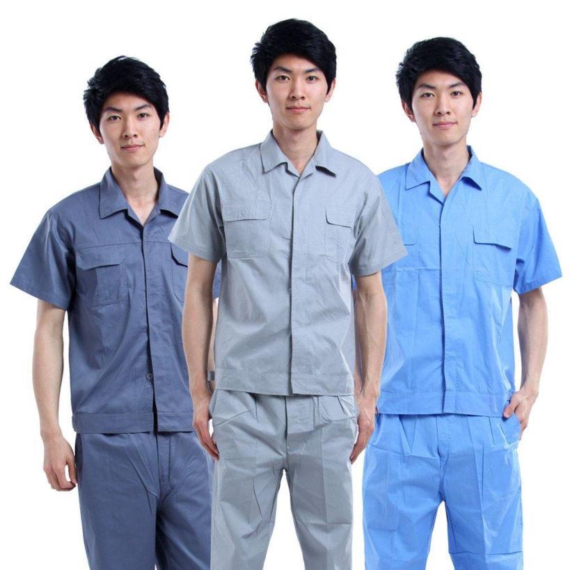 Mẫu đồng phục công nhân