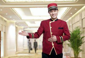 Mẫu mũ lễ tân khách sạn đẹp sang trọng