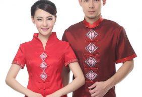 Mẫu đồng phục nhà hàng dân tộc